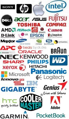 Сервисный центр Sony, HP (Hewlett-Packard), Apple, intel, Dell, acer, asus, fujitsu, amd, toshiba, Compaq, amd, asrock, ati, atlatics, canon, d-link, lg, epson, kingston, maxtor, Samsung, nvidia, Symantec, apc, beats. by dr. dre, oracle, braun, nec, kenwood, wd, sharp, Philips, Xerox, Hitachi, Panasonic, Microsoft, Lenovo, Logitech, IBM, gigabyte, genius, htc, cooler master, adobe, garmin, pocketbook.